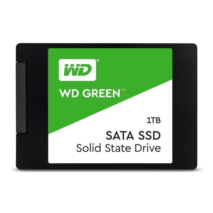 """Western Digital SSD Green, 120GB, 2.5""""-rychlost 545 MB/s (WDS120G2G0A)"""