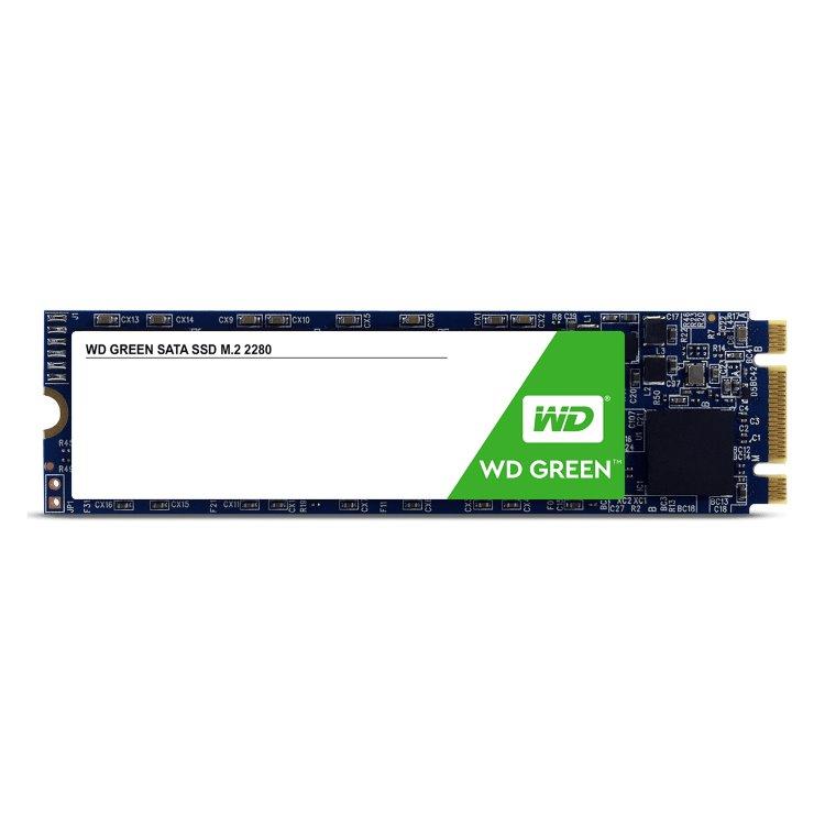 Western Digital SSD Green, 120GB, M.2-rychlost 545 MB/s (WDS120G2G0B)
