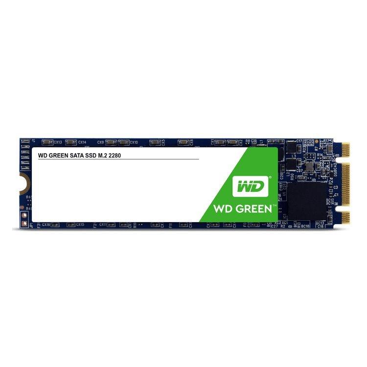 Western Digital SSD Green, 480GB, M.2-rychlost 545 MB/s (WDS480G2G0B)
