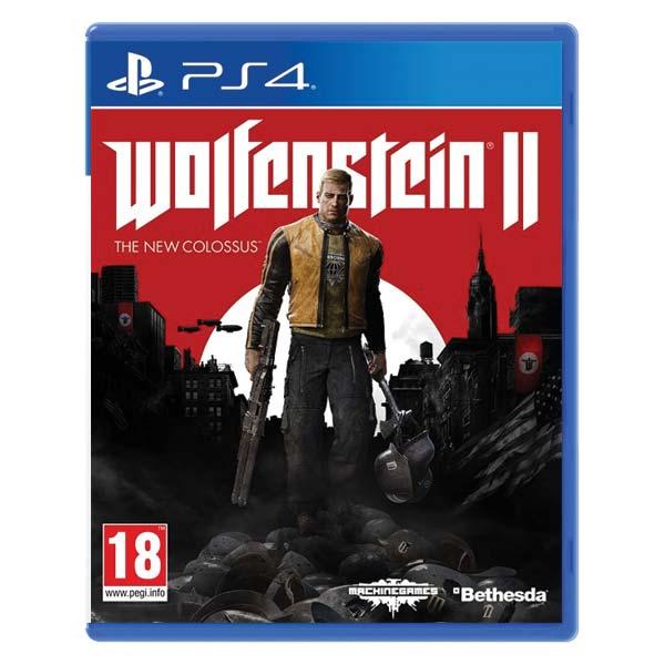 Wolfenstein 2: The New Colossus[PS4]-BAZAR (použité zboží)