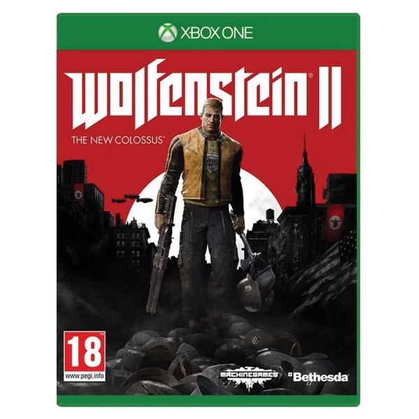 Wolfenstein 2: The New Colossus[XBOX ONE]-BAZAR (použité zboží)