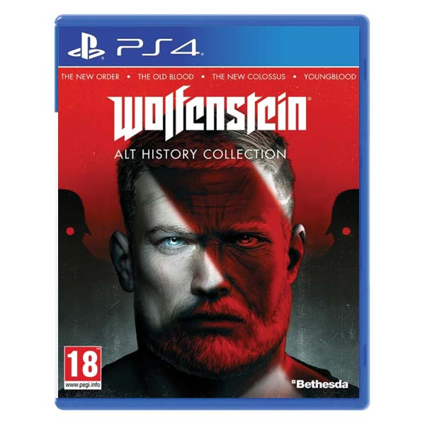 Wolfenstein (Alternative History Pack) PS4