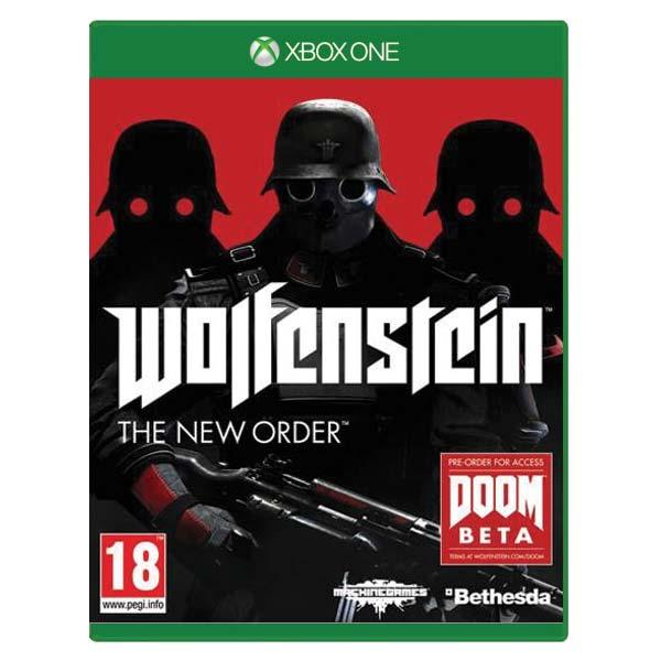 Wolfenstein: The New Order[XBOX ONE]-BAZAR (použité zboží)
