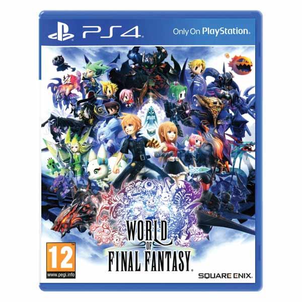 World of Final Fantasy PS4
