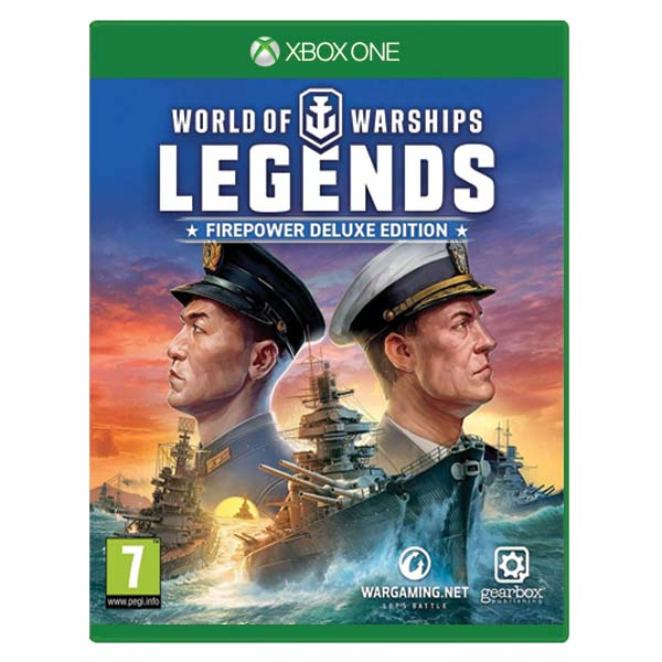 World of Warships: Legends (Firepower Deluxe Edition) XBOX ONE