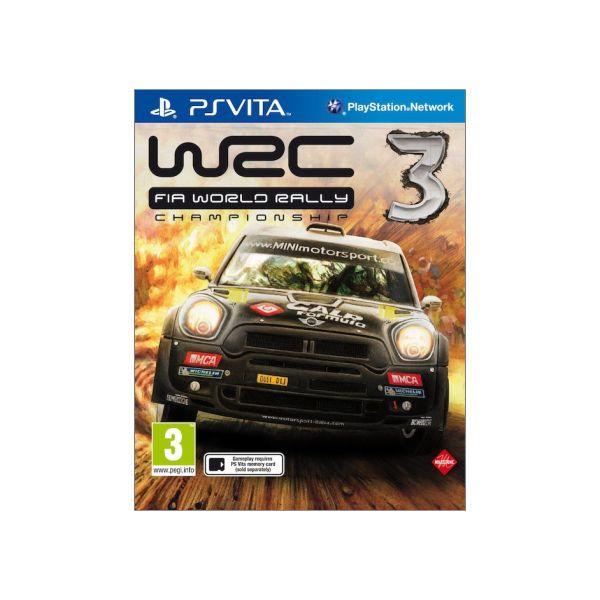 WRC: FIA World Rally Championship 3 PS Vita