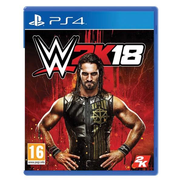 WWE 2K18[PS4]-BAZAR (použité zboží)
