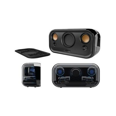 X-mini CLEAR 2.1, přenosný bluetooth reproduktor, Black