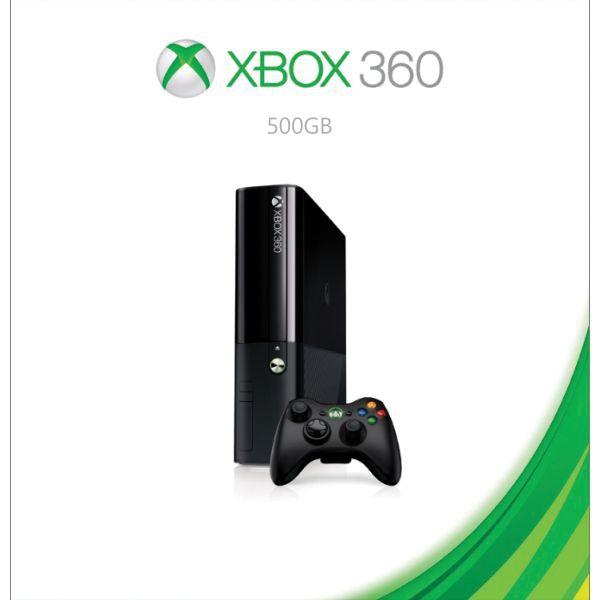 Xbox 360 Premium E 500GB BAZÁR (použitý tovar , zmluvná záruka 12 mesiacov