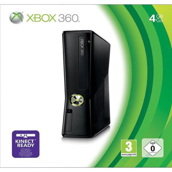Xbox 360 4GB-XBOX 360-BAZAR (použité zboží)