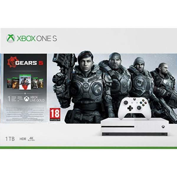 Xbox One S 1TB + Gears 5 + Gears of War 1,2,3,4