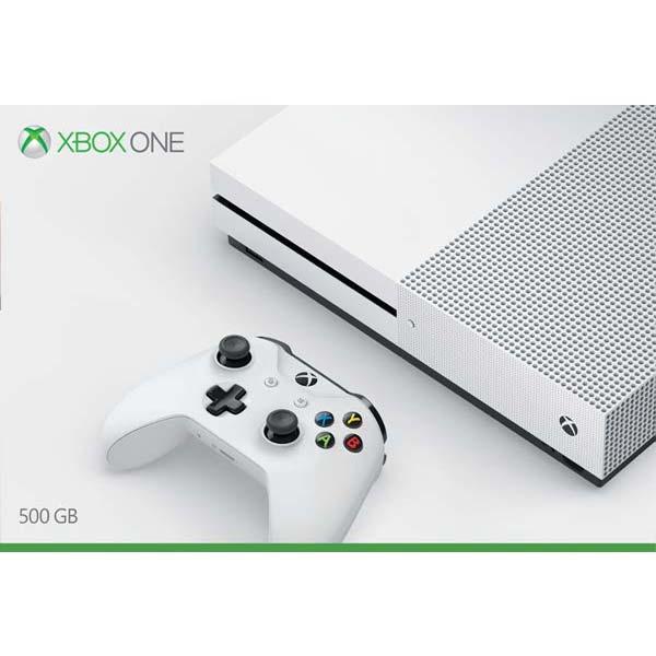 Xbox One S 500gb-BAZAR (použité zboží, smluvní záruka 12 měsíců)