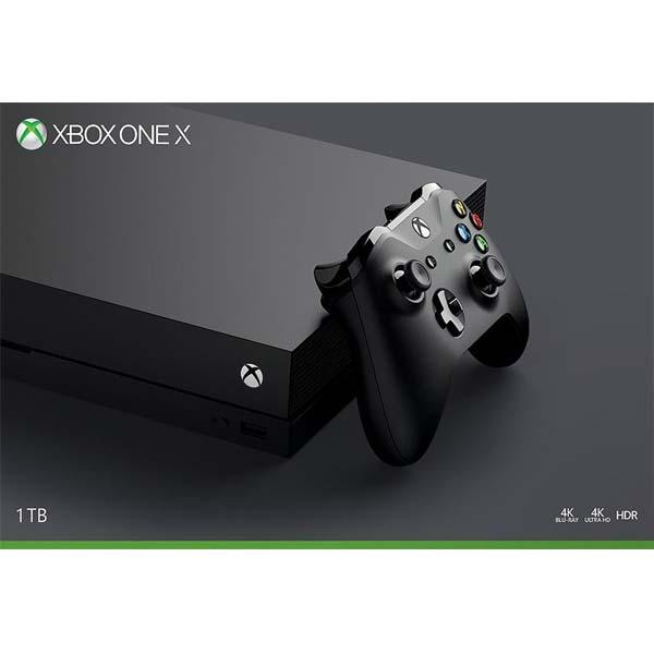 Xbox One X 1TB-BAZAR (použité zboží, smluvní záruka 12 měsíců)