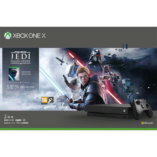Xbox One X 1TB + Star Wars Jedi: Fallen Order (Deluxe Edition)