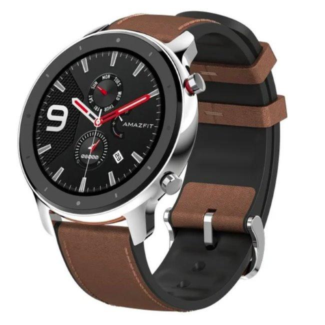 Xiaomi Amazfit GTR, 47.2mm, multifunkční hodinky, Stainless Steel