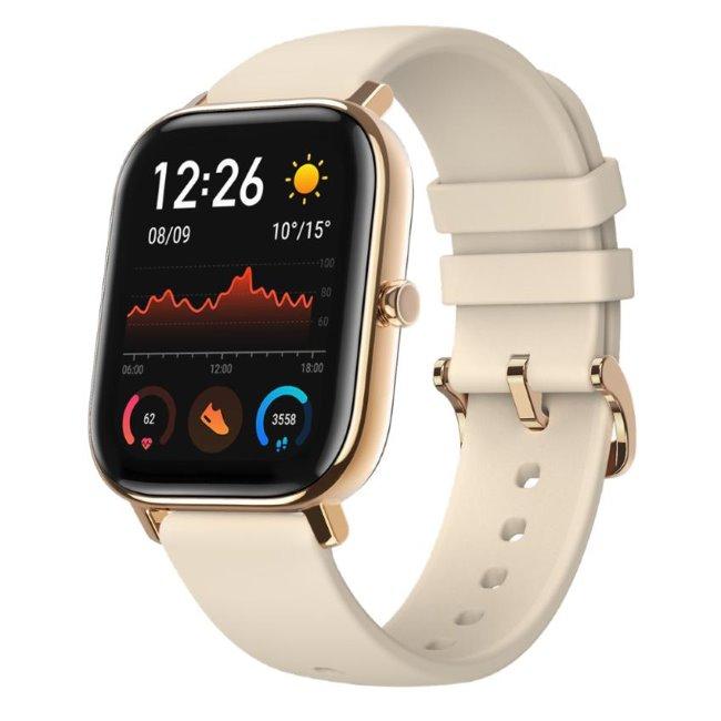 Xiaomi Amazfit GTS, multifunkčné hodinky, gold