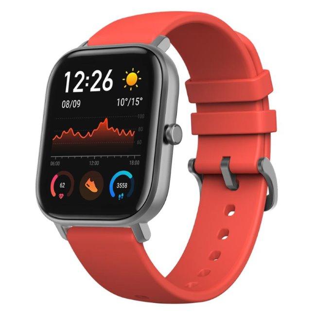 Xiaomi Amazfit GTS, multifunkčné hodinky, red
