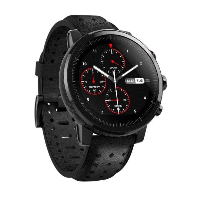 Xiaomi Amazfit Pace 2S Stratos, Global, multifunkční hodinky, Black