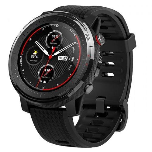 Xiaomi Amazfit Stratos 3, multifunkční hodinky, Black
