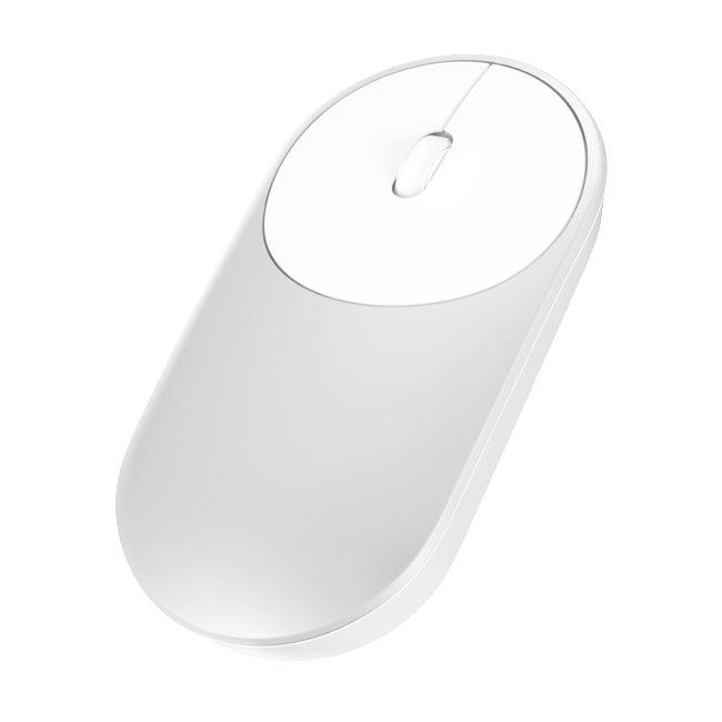 Přenosná myš Xiaomi Mi-bezdrátová myš, stříbrná