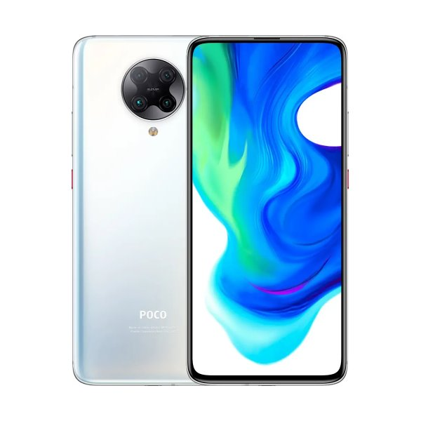 Xiaomi Pocophone F2 Pro, 6GB/128GB, White + silikonové pouzdro Xiaomi