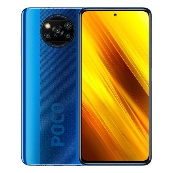 Xiaomi Poco X3, 6/128GB, Cobalt Blue