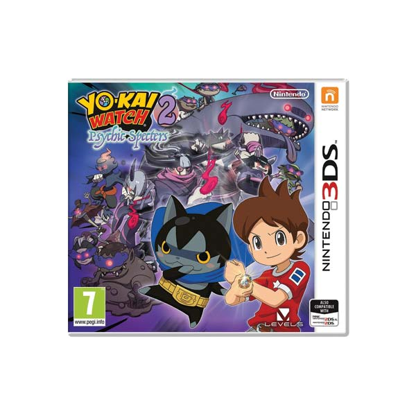 Yo-Kai Watch 2: Psychické přízraky 3DS