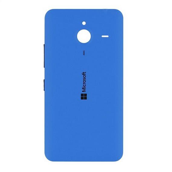 Zadní náhradní kryt (kryt baterie) pro Microsoft Lumia 640 XL, Cyan