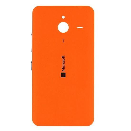 Zadní náhradní kryt (kryt baterie) pro Microsoft Lumia 640 XL, Orange