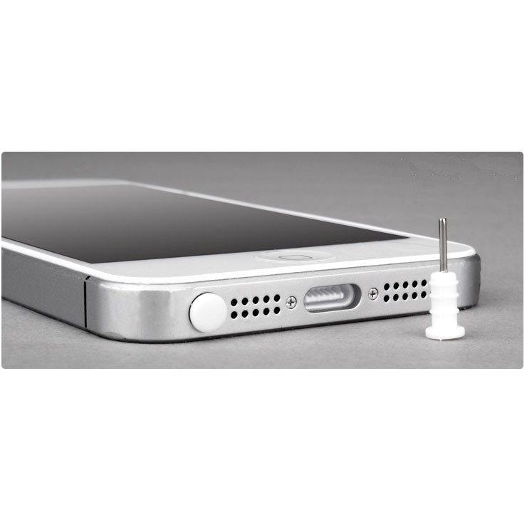 Plug-in 3,5 mm konektor a konektor Micro USB, bílý