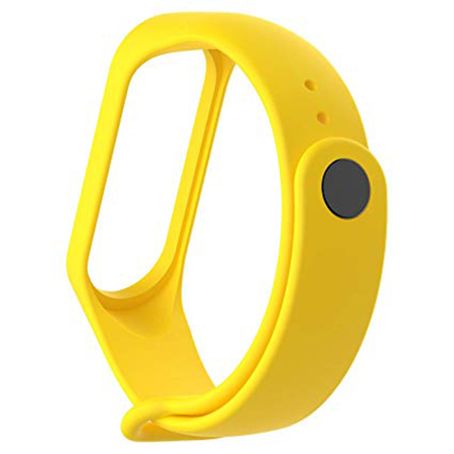 Žlutý náramek pro Xiaomi MiBand 3 a 4