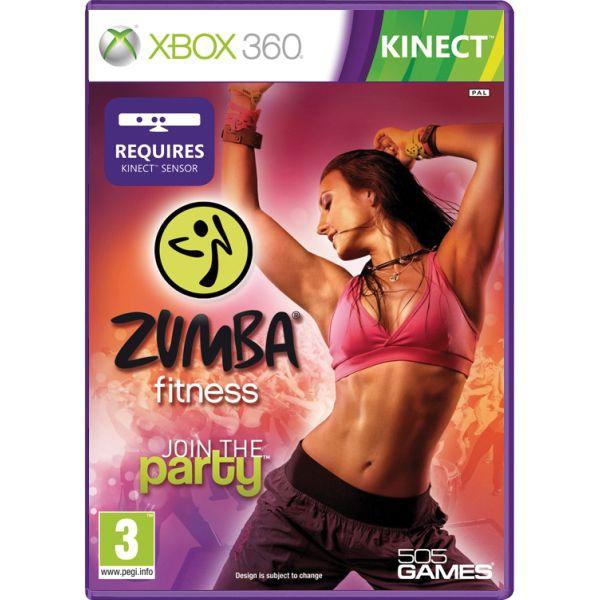 Zumba Fitness: Join the Party[XBOX 360]-BAZAR (použité zboží)