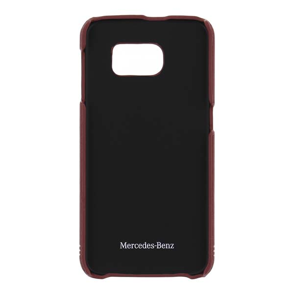 Puzdro Mercedes Grill Leather pre Samsung Galaxy S6 - G920F, Red