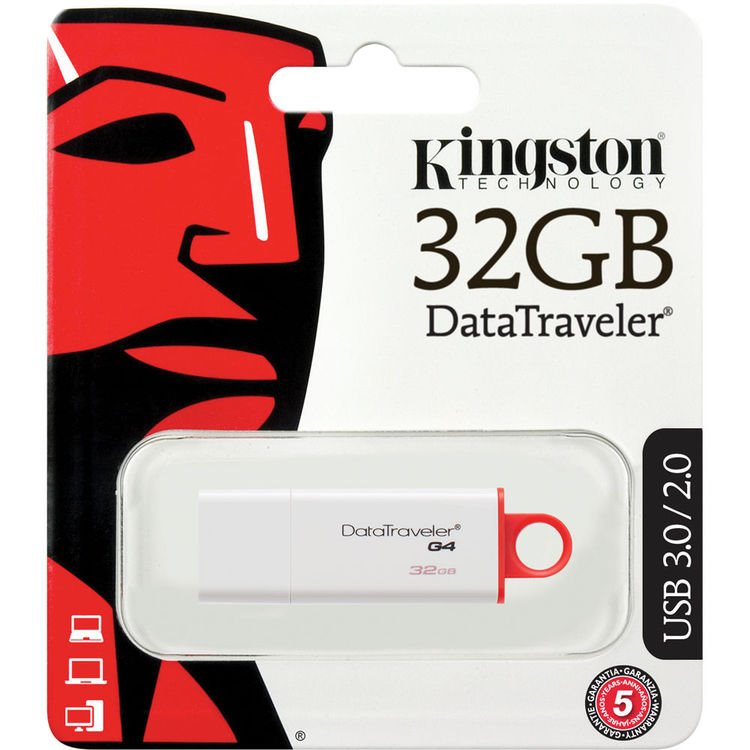 USB klíč Kingston DataTraveler G4, 32GB, USB 3.0 (DTIG4/32GB)