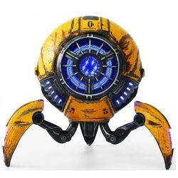 Gravastar Bluetooth Speaker Mars (War damaged Version), yellow