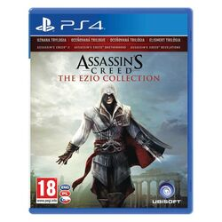 Assassins Creed CZ (The Ezio Collection)[PS4]-BAZAR (použité zboží) na supergamer.cz