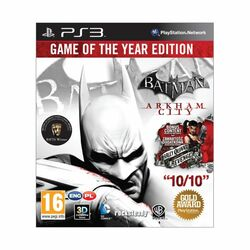 Batman: Arkham City (Game of the Year Edition) na supergamer.cz