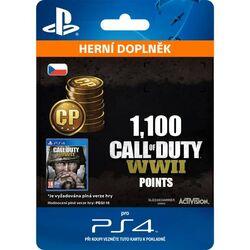 Call of Duty: WW2 Points - 1100 (CZ)