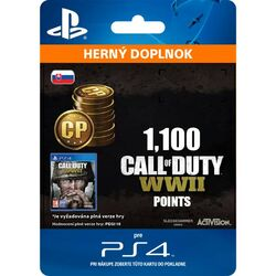Call of Duty: WW2 Points - 1100 (SK)