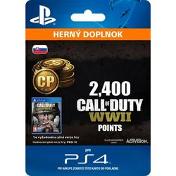 Call of Duty: WW2 Points - 2400 (SK)
