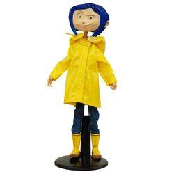 Coraline in Rain Coat Bendy Fashion Doll 18 cm