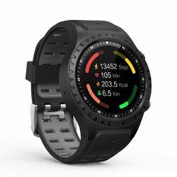Evolveo SportWatch M1S - chytré športové hodinky s podporou SIM, Black