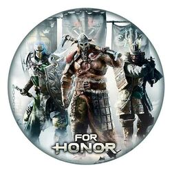 For Honor Mousepad-Factions in shape na supergamer.cz