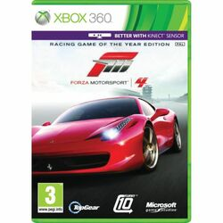 Forza Motorsport 4 CZ (Racing Game of the Year Edition) na supergamer.cz