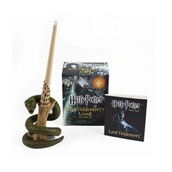 Harry Potter Voldemort's Wand with Sticker Kit: Lights Up! (Miniature Editions)