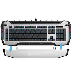 Herná klávesnica Roccat Skeltr RGB Gaming Keyboard, White