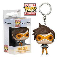 Kľúčenka Pocket POP! Overwatch - Tracer