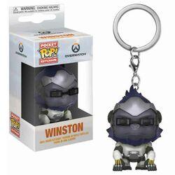 Kľúčenka Pocket POP! Overwatch - Winston