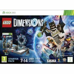 LEGO Dimensions (Starter Pack) - OPENBOX (Rozbalený tovar s plnou zárukou)