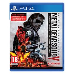 Metal Gear Solid 5: Ground Zeroes + Metal Gear Solid 5: The Phantom Pain (The Definitive Experience)[PS4]-BAZAR (použ na supergamer.cz